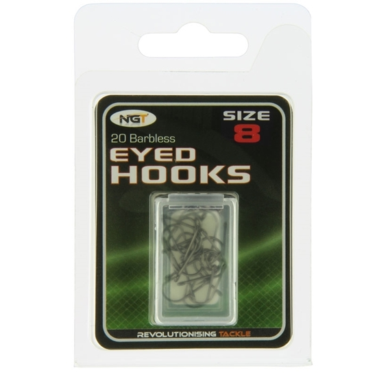 Picture of NGT Eyed Hooks