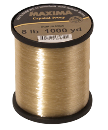 Picture of Maxima Crystal Ivory Fishing Line